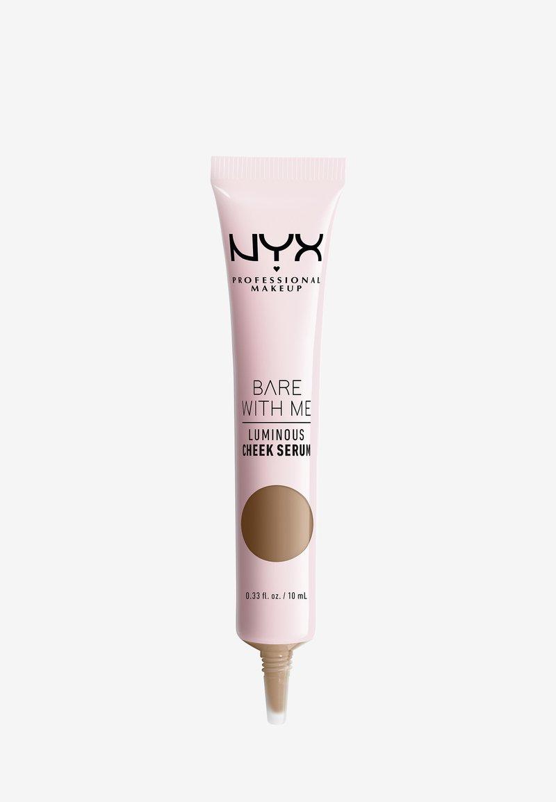 Nyx Professional Makeup - BARE WITH ME SHROOMBIOTIC LUMINOUS CHEEK SERUM - Foundation - 02 tan bronze