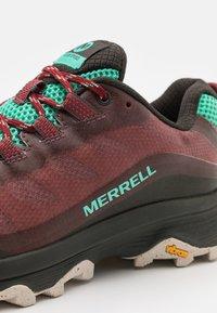 Merrell - MOAB SPEED - Zapatillas de trail running - burlwood - 3