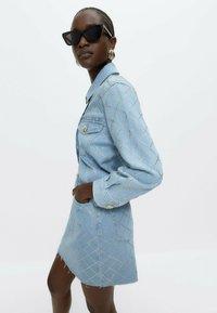 Uterqüe - Denim jacket - blue - 3