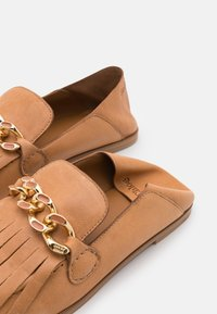 See by Chloé - MAHE FLAT - Slip-ons - light pastelbrown - 6