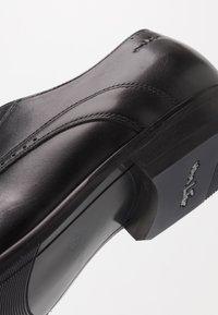 Van Lier - GOLIATH - Smart lace-ups - black - 5