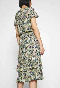 Barbara Lebek - Day dress - denim blue/ lemon/ orange - 5