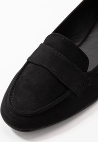 New Look Wide Fit - WIDE FIT LORNA - Slip-ons - black - 2