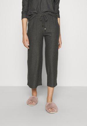 FLEXI WIDE LEG - Pyjamasbukse - charcoal