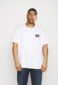 Levi's® Plus - 2 PACK - Print T-shirt - caviar/white - 1