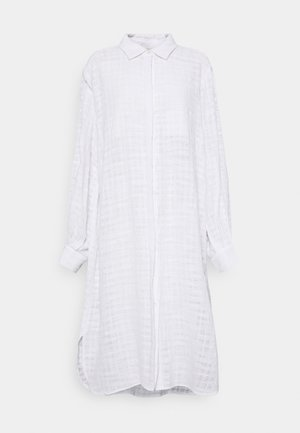 KIRANA LONG - Button-down blouse - snow white