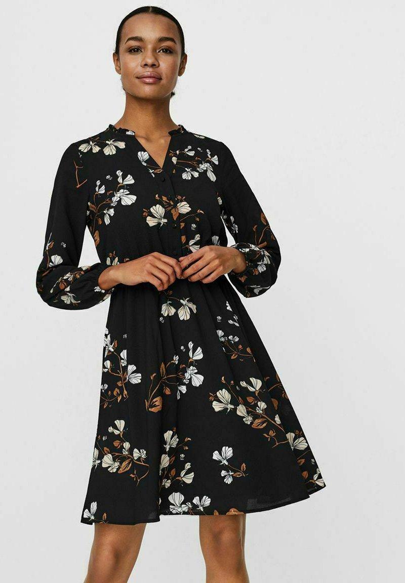 Vero Moda - Shirt dress - black