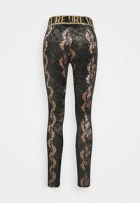 Versace Jeans Couture - Leggings - Trousers - moro - 1