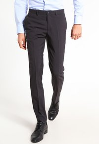 Lindbergh - PLAIN MENS SUIT - Traje - dark grey - 3