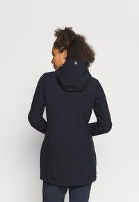 Icepeak - VIAMAO - Soft shell jacket - dark blue/black melange - 2