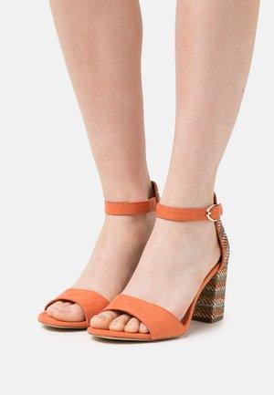 Sandales - orange