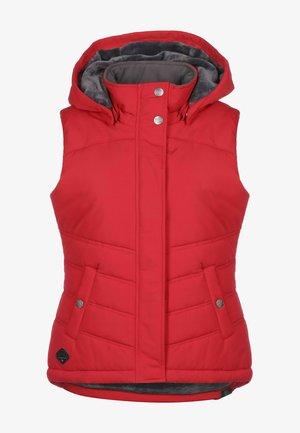 HESTY - Waistcoat - red