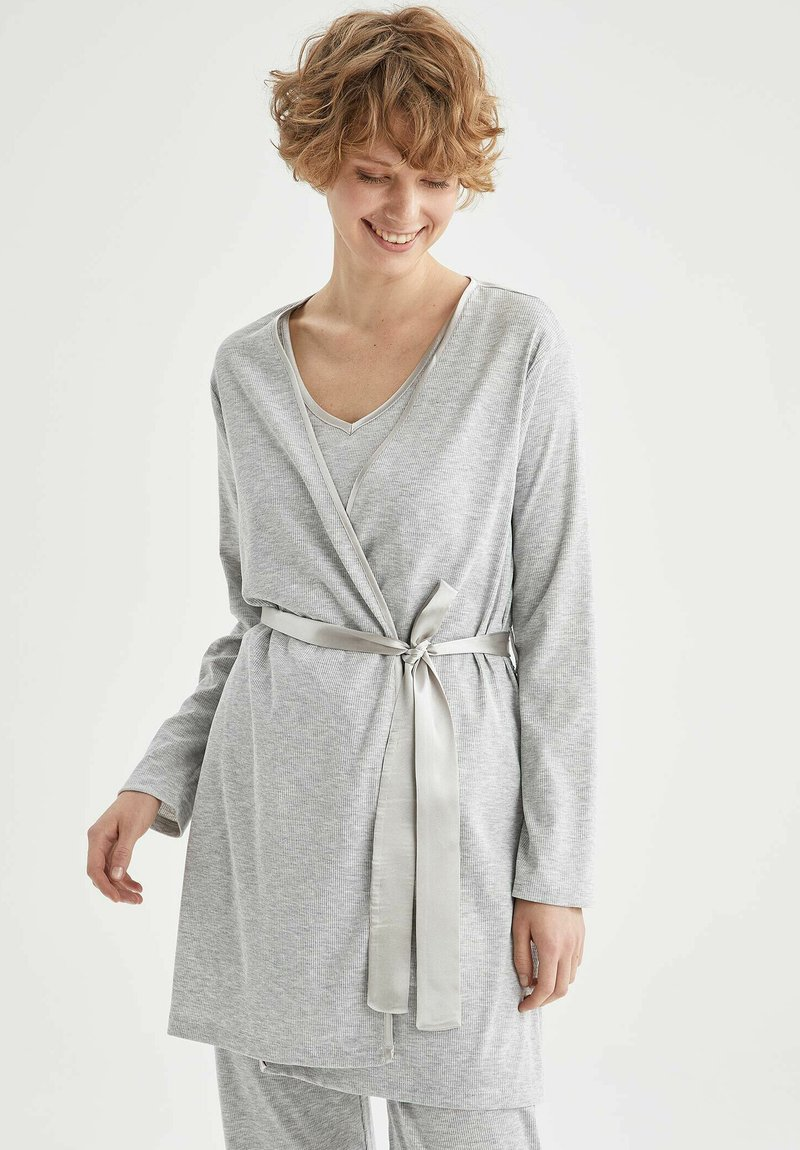 DeFacto - Dressing gown - grey