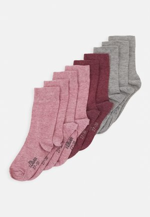 ONLINE JUNIOR ORIGINAL SOCKS 9 PACK - Sokken - heather rose