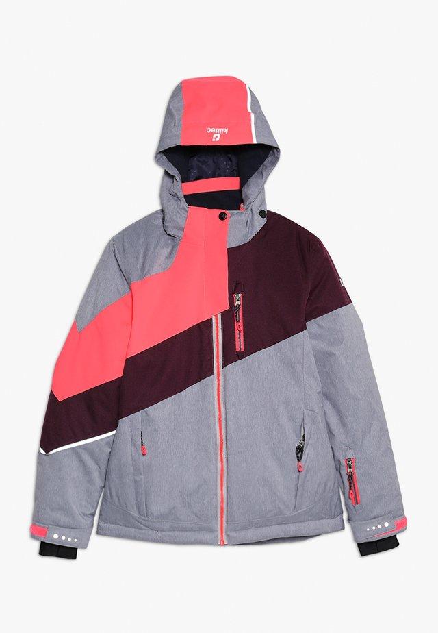 LARITA - Lyžařská bunda - hellgrau melange
