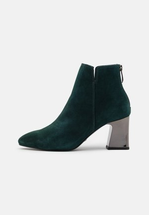 Ankle boots - petrol