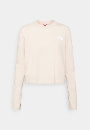 CROP TEE - Long sleeved top - pink tint