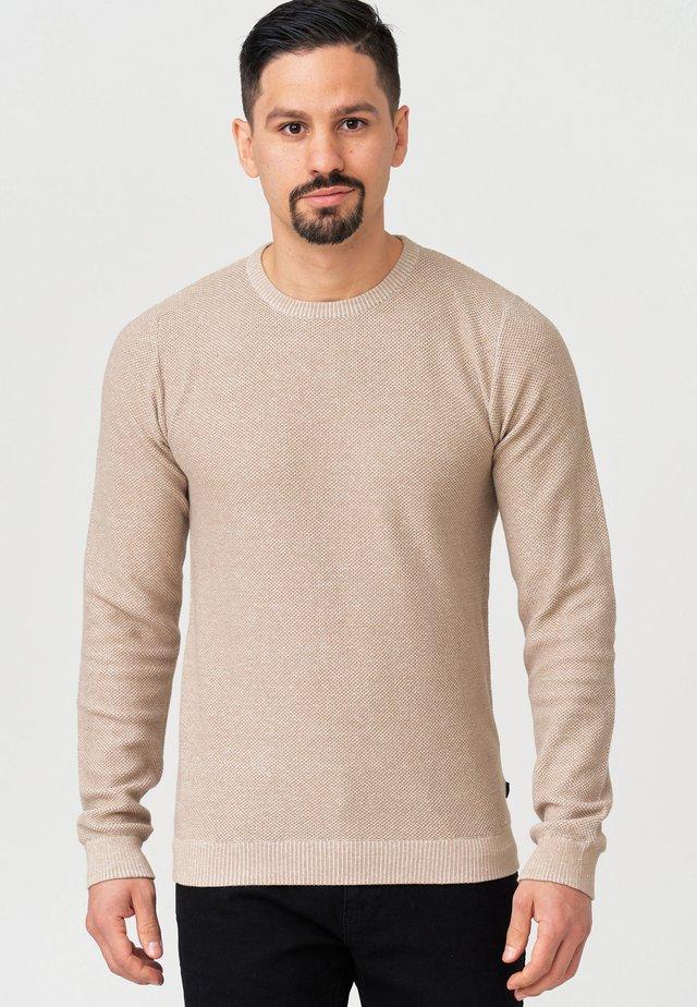 CRESPO - Pullover - silver mink