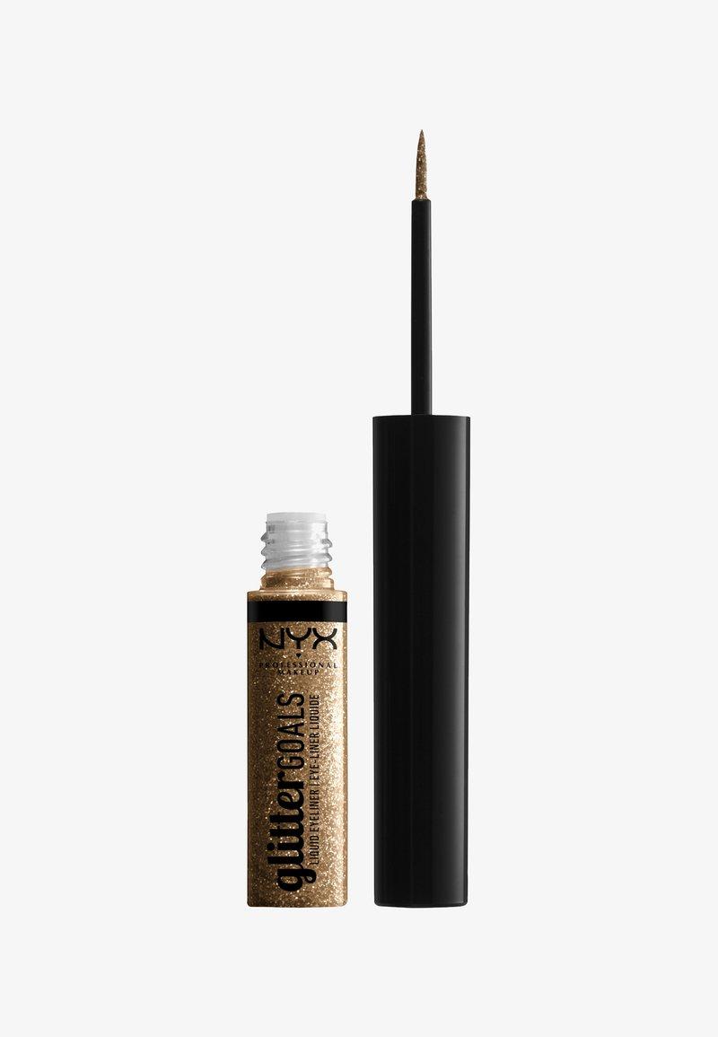 Nyx Professional Makeup - GLITTER GOALS LIQUID EYELINER - Eyeliner - 01 zodiac queen