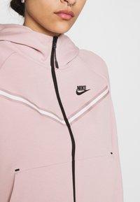 Nike Sportswear - Zip-up sweatshirt - champagne/black - 5