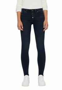 Esprit - Jeans Skinny Fit - blue black - 0