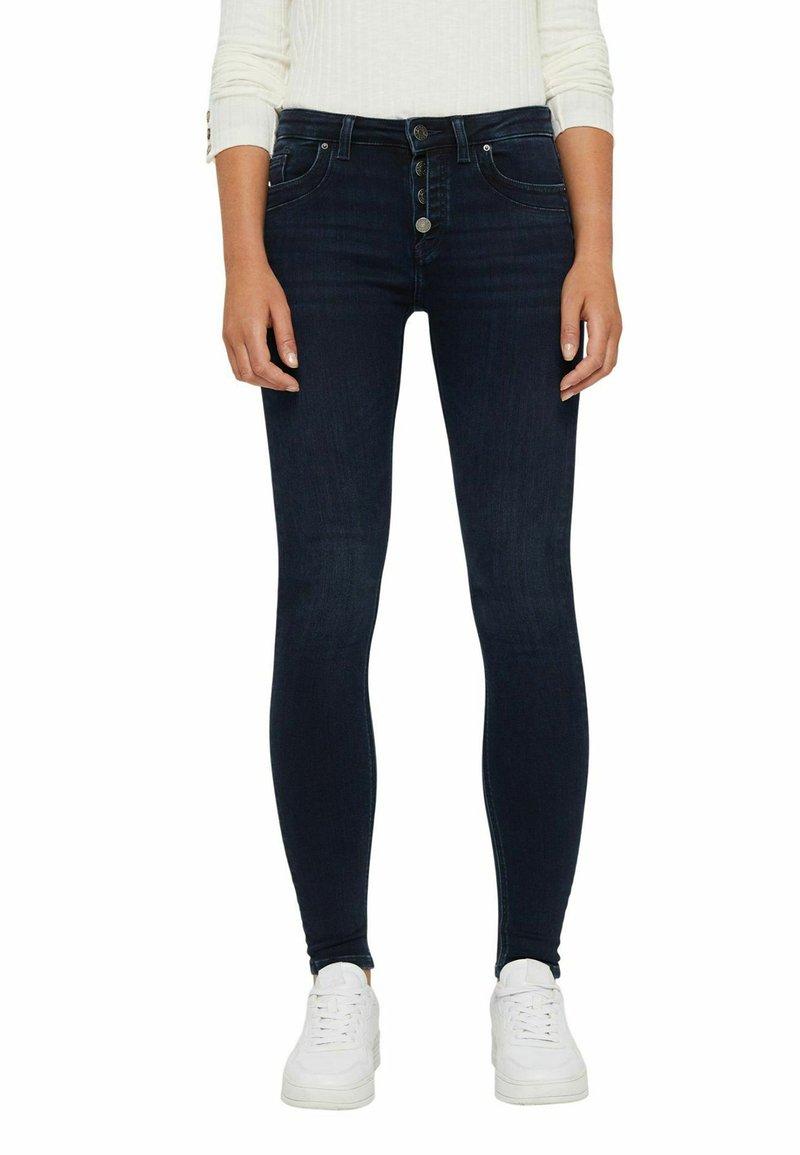 Esprit - Jeans Skinny Fit - blue black