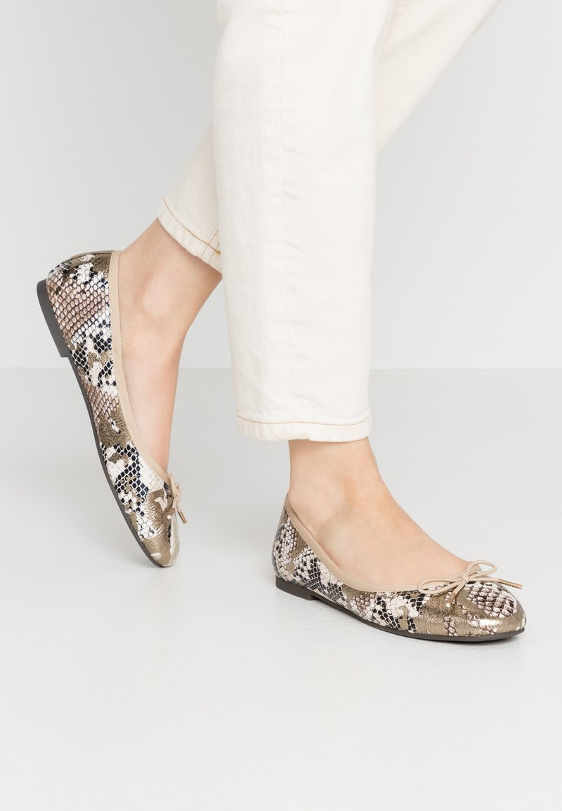 Tamaris - Ballet pumps - metallic
