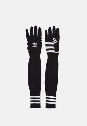 GLOVES UNISEX - Fingervantar - black/white