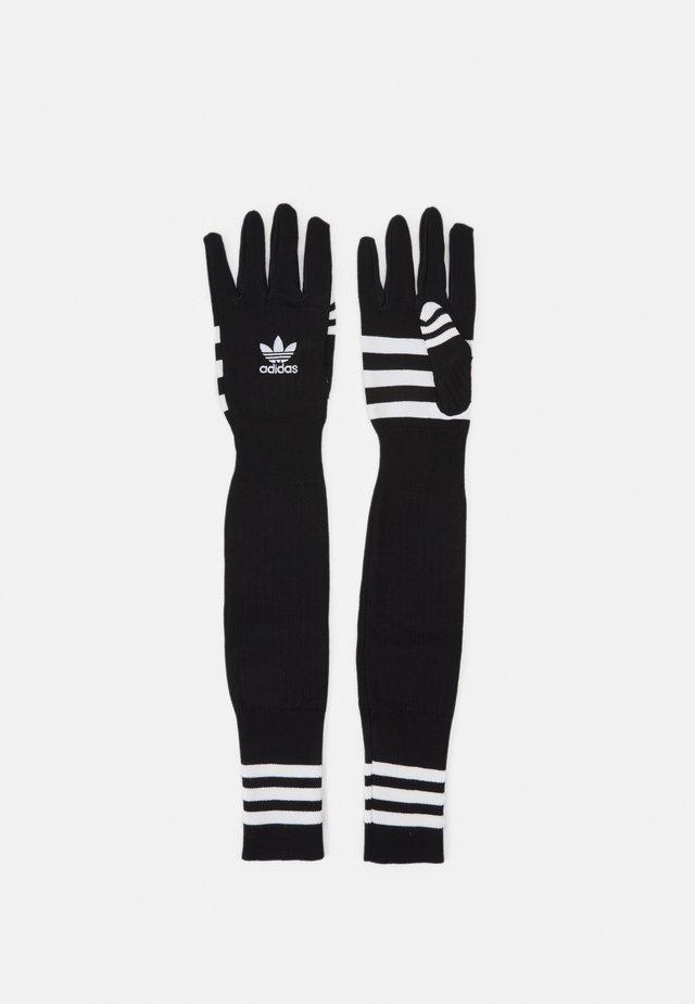 GLOVES UNISEX - Guanti - black/white