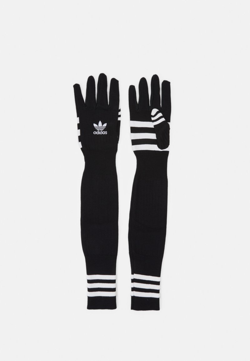 adidas Originals - GLOVES UNISEX - Gloves - black/white