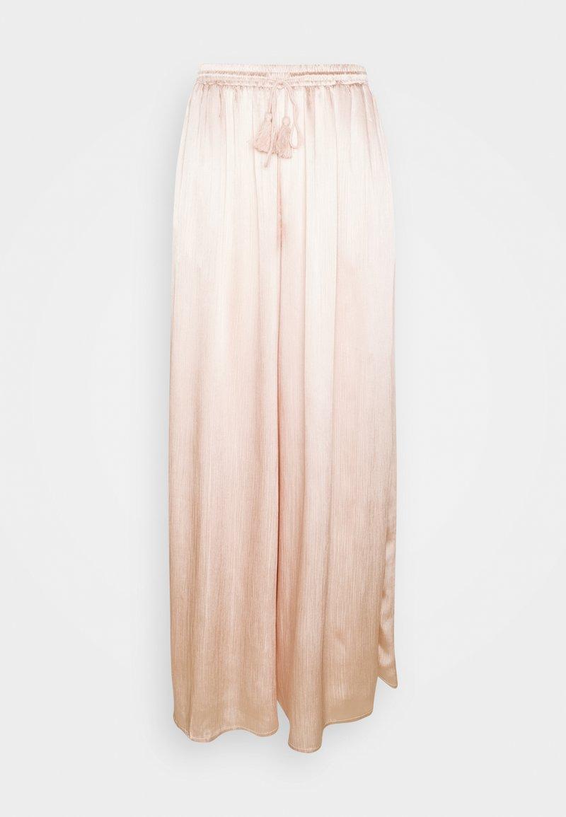 Glamorous Tall - WIDE LEG TROUSERS - Trousers - stone