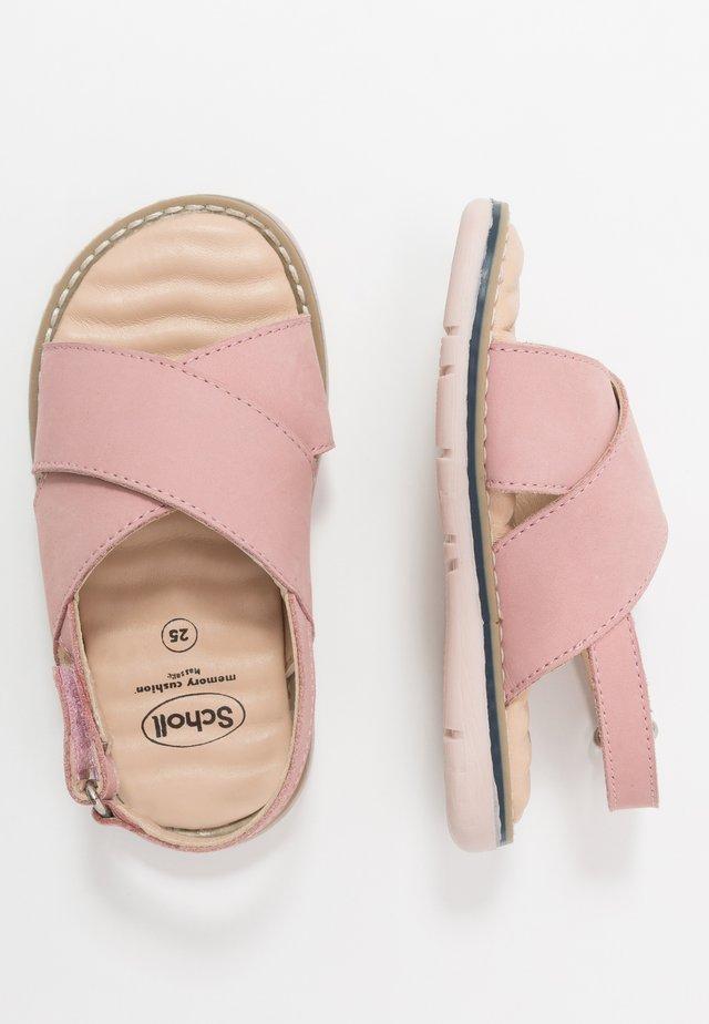 TRIOLINE - Sandales - pink
