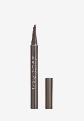 BROW MARKER - Eyebrow pencil - medium brown