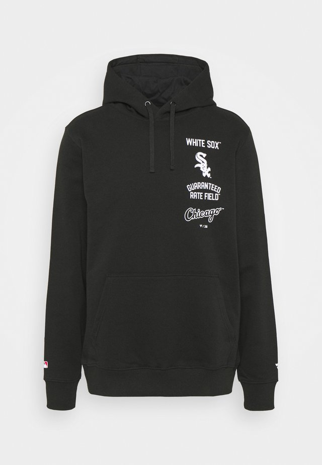 MLB CHICAGO WHITE SOX PROPERTY OF GRAPHIC OVERHEAD HOODIE - Squadra - black