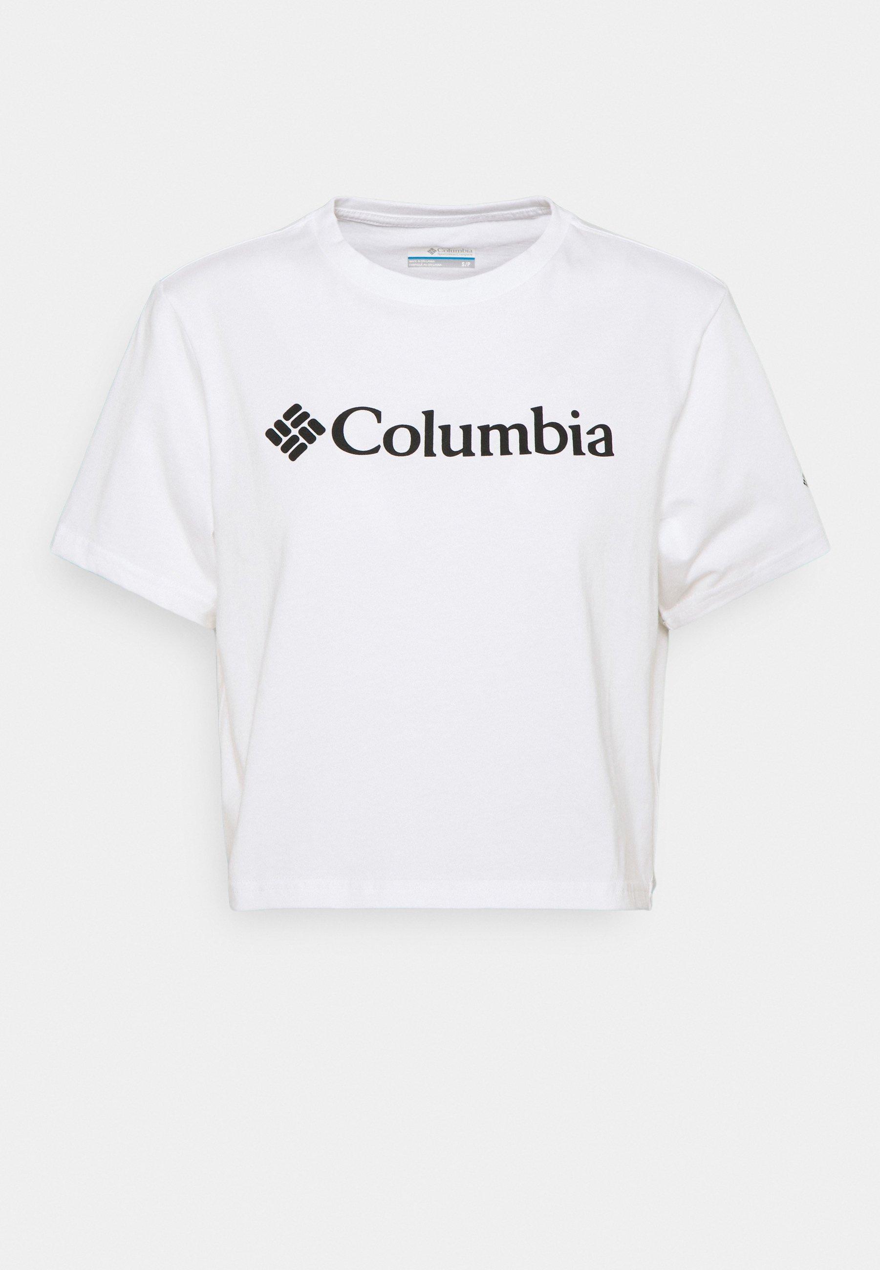 Women NORTH CASCADES CROPPED - Print T-shirt