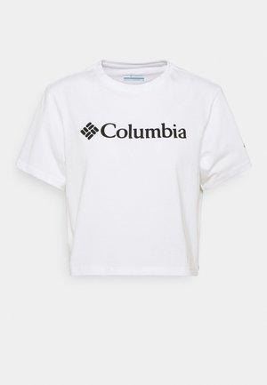 NORTH CASCADES CROPPED - Print T-shirt - white