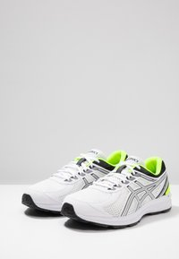 ASICS - GEL-BRAID - Neutral running shoes - real white/silver - 2