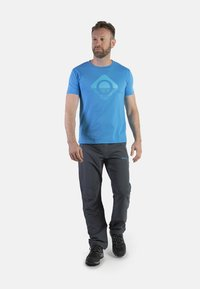 IZAS - CLOISTER - Pantalons outdoor - dark grey/blue river - 1