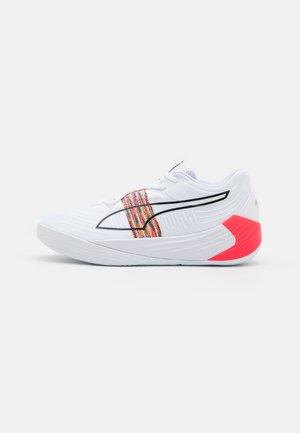 FUSION NITRO SPECTRA - Basketball shoes - white/sunblaze
