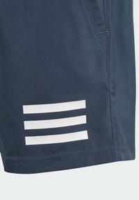adidas Performance - CLUB 3 STRIPES PRIMEGREEN SHORTS - Sports shorts - blue - 4