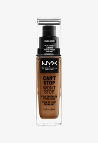 Nyx Professional Makeup - CAN'T STOP WON'T STOP FOUNDATION - Foundation - 15.9 warm honey - 0