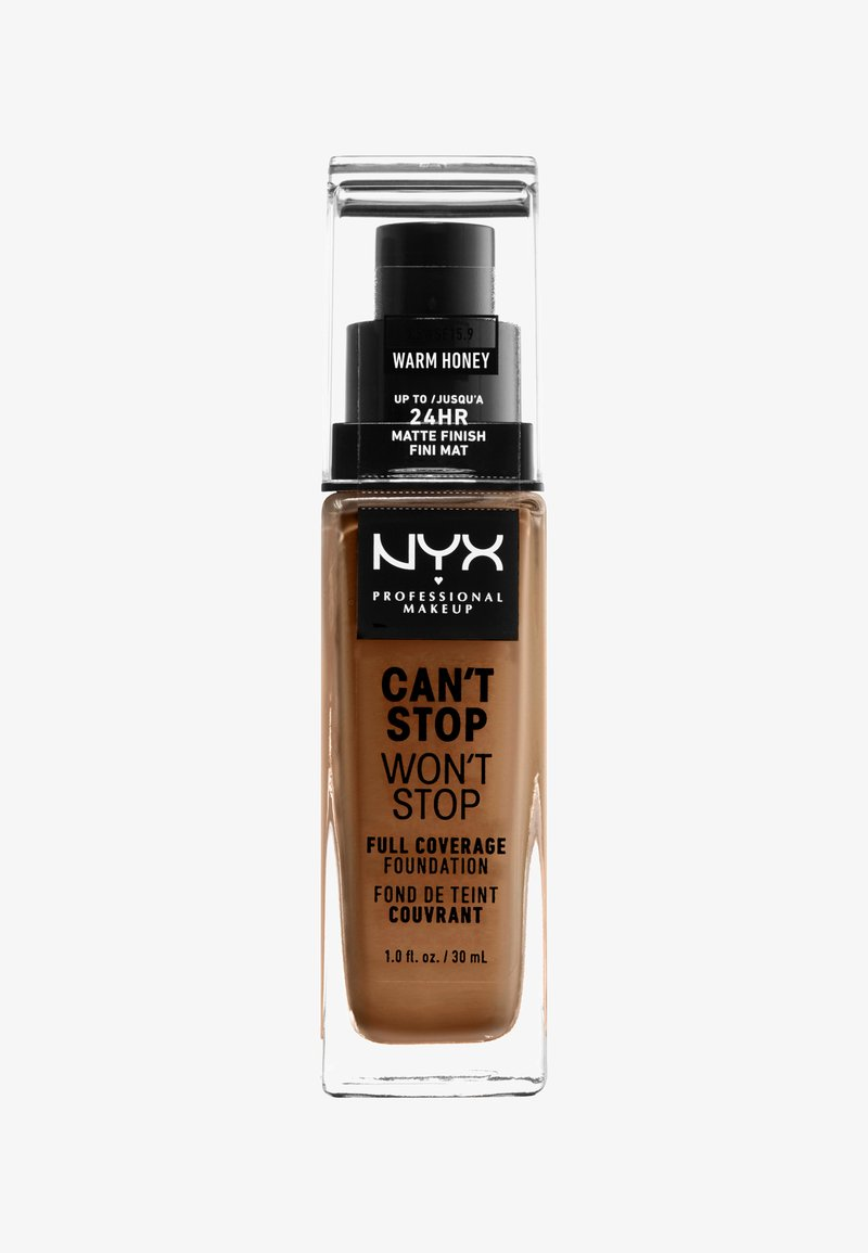 Nyx Professional Makeup - CAN'T STOP WON'T STOP FOUNDATION - Foundation - 15.9 warm honey