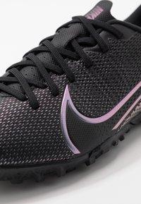 Nike Performance - MERCURIAL JR VAPOR 13 ACADEMY TF UNISEX - Astro turf trainers - black - 2