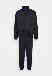 NBA LA LAKERS TRACKSUIT - Club wear - black/field purple