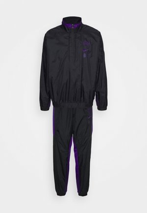 NBA LA LAKERS TRACKSUIT - Pelipaita - black/field purple