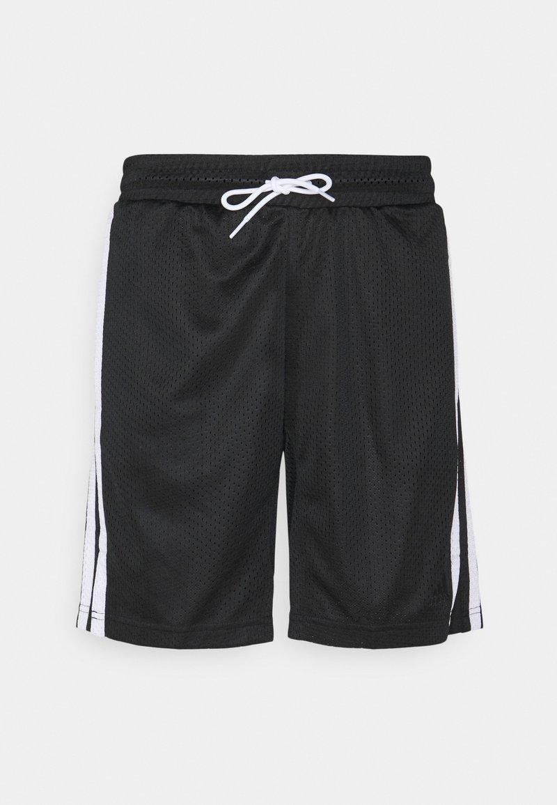 adidas Performance - SUMMER BASKETBALL PRIMEGREEN SHORTS - Sportovní kraťasy - black