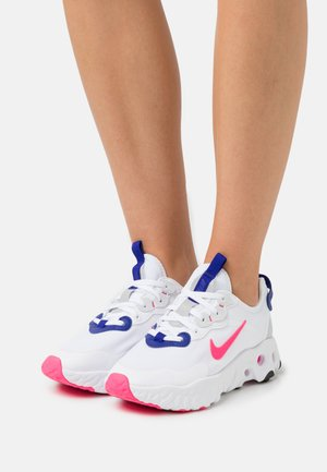 ART3MIS - Sneaker low - white/hyper pink/concord/pure platinum/black