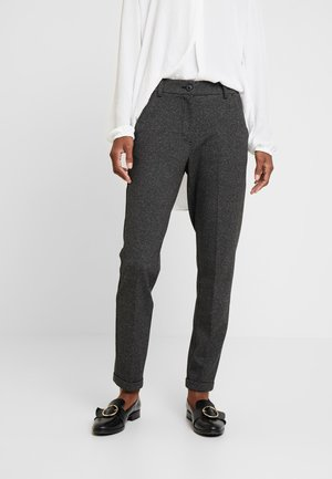 MELINA CITY - Trousers - black