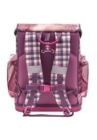 Belmil - SET - School bag - dark red - 1