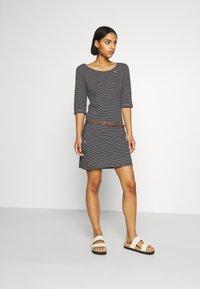 Ragwear - TANYA - Jersey dress - black - 0